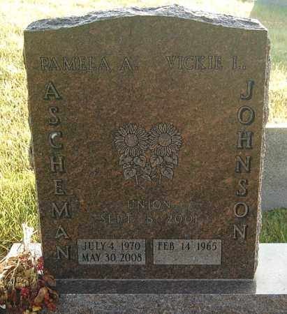 JOHNSON, VICKIE L. - Minnehaha County, South Dakota | VICKIE L. JOHNSON - South Dakota Gravestone Photos