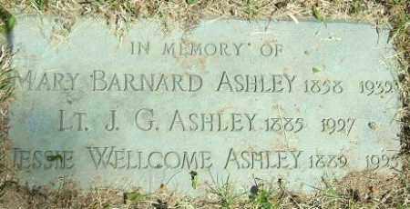 ASHLEY, MARY - Minnehaha County, South Dakota | MARY ASHLEY - South Dakota Gravestone Photos