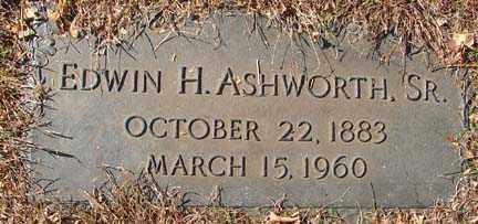 ASHWORTH, EDWIN H. SR. - Minnehaha County, South Dakota | EDWIN H. SR. ASHWORTH - South Dakota Gravestone Photos