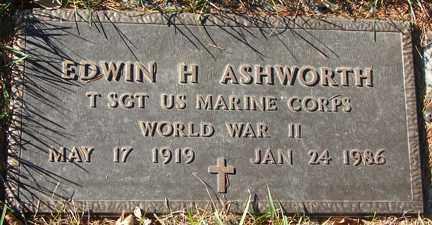 ASHWORTH, EDWIN H. - Minnehaha County, South Dakota | EDWIN H. ASHWORTH - South Dakota Gravestone Photos