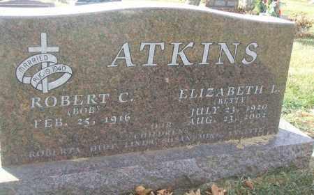 ATKINS, ELIZABETH L. - Minnehaha County, South Dakota | ELIZABETH L. ATKINS - South Dakota Gravestone Photos