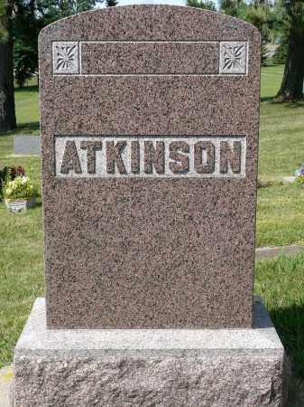 ATKINSON, FAMILY MARKER - Minnehaha County, South Dakota   FAMILY MARKER ATKINSON - South Dakota Gravestone Photos