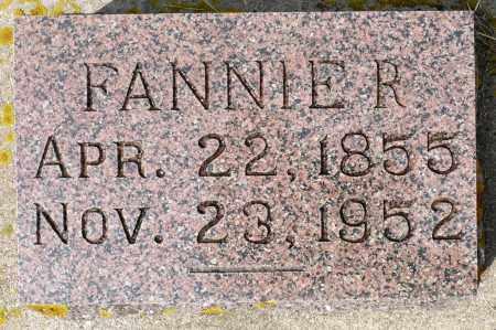 ATKINSON, FANNIE R. - Minnehaha County, South Dakota   FANNIE R. ATKINSON - South Dakota Gravestone Photos