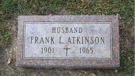ATKINSON, FRANK L. - Minnehaha County, South Dakota | FRANK L. ATKINSON - South Dakota Gravestone Photos