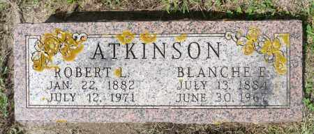 ATKINSON, BLANCHE E. - Minnehaha County, South Dakota | BLANCHE E. ATKINSON - South Dakota Gravestone Photos