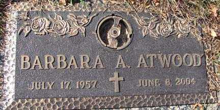 ATWOOD, BARBARA ALICE - Minnehaha County, South Dakota | BARBARA ALICE ATWOOD - South Dakota Gravestone Photos