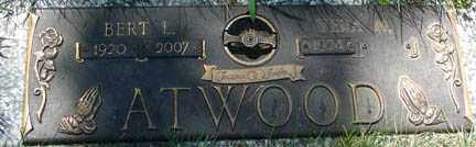 ATWOOD, BERT LEROY - Minnehaha County, South Dakota | BERT LEROY ATWOOD - South Dakota Gravestone Photos