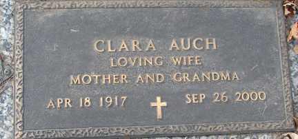 AUCH, CLARA - Minnehaha County, South Dakota | CLARA AUCH - South Dakota Gravestone Photos