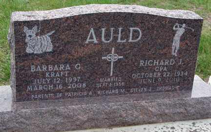 AULD, BARBARA  G. - Minnehaha County, South Dakota | BARBARA  G. AULD - South Dakota Gravestone Photos