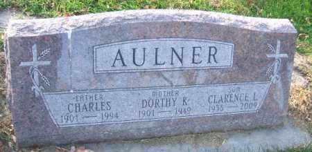 AULNER, CHARLES - Minnehaha County, South Dakota | CHARLES AULNER - South Dakota Gravestone Photos