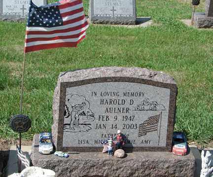 AULNER, HAROLD D. - Minnehaha County, South Dakota | HAROLD D. AULNER - South Dakota Gravestone Photos