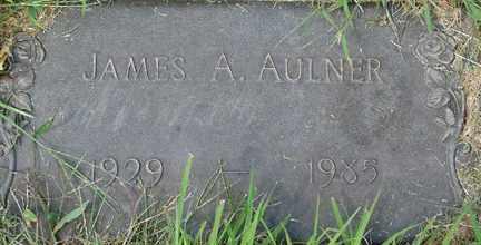 AULNER, JAMES A. - Minnehaha County, South Dakota   JAMES A. AULNER - South Dakota Gravestone Photos