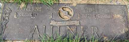 AULNER, VIOLET ANN - Minnehaha County, South Dakota | VIOLET ANN AULNER - South Dakota Gravestone Photos