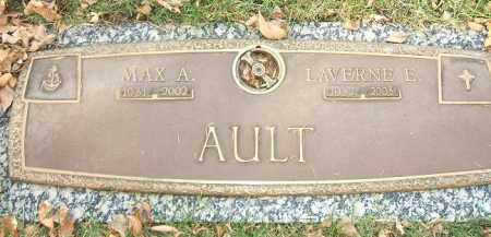 AULT, MAX A. - Minnehaha County, South Dakota | MAX A. AULT - South Dakota Gravestone Photos