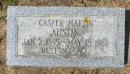 AUSTIN, CASPER MARTIN - Minnehaha County, South Dakota | CASPER MARTIN AUSTIN - South Dakota Gravestone Photos