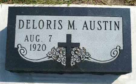 AUSTIN, DELORIS M. - Minnehaha County, South Dakota | DELORIS M. AUSTIN - South Dakota Gravestone Photos