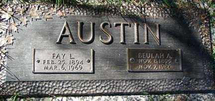 AUSTIN, BEULAH A. - Minnehaha County, South Dakota | BEULAH A. AUSTIN - South Dakota Gravestone Photos