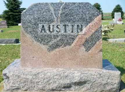 AUSTIN, FAMILY MARKER - Minnehaha County, South Dakota | FAMILY MARKER AUSTIN - South Dakota Gravestone Photos