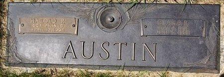 AUSTIN, HAROLD P. - Minnehaha County, South Dakota   HAROLD P. AUSTIN - South Dakota Gravestone Photos
