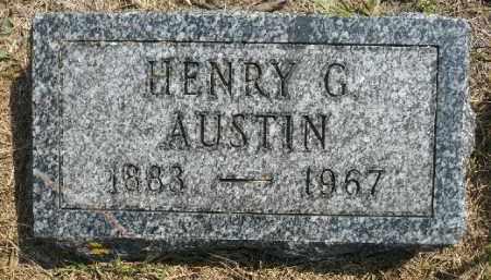 AUSTIN, HENRY G. - Minnehaha County, South Dakota | HENRY G. AUSTIN - South Dakota Gravestone Photos