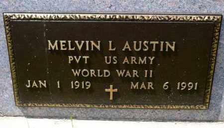AUSTIN, MELVIN L. (WWII) - Minnehaha County, South Dakota | MELVIN L. (WWII) AUSTIN - South Dakota Gravestone Photos