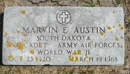 AUSTIN, MARVIN E. (WWII) - Minnehaha County, South Dakota | MARVIN E. (WWII) AUSTIN - South Dakota Gravestone Photos