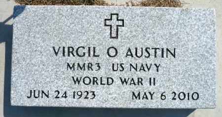 AUSTIN, VIRGIL O. (WWII) - Minnehaha County, South Dakota | VIRGIL O. (WWII) AUSTIN - South Dakota Gravestone Photos
