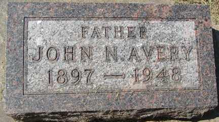 AVERY, JOHN N. - Minnehaha County, South Dakota   JOHN N. AVERY - South Dakota Gravestone Photos