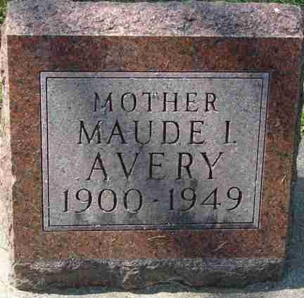 AVERY, MAUDE I. - Minnehaha County, South Dakota | MAUDE I. AVERY - South Dakota Gravestone Photos