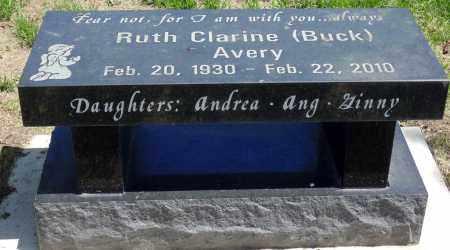 AVERY, RUTH CLARINE - Minnehaha County, South Dakota   RUTH CLARINE AVERY - South Dakota Gravestone Photos