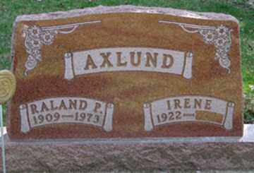 AXLUND, RALAND  P. - Minnehaha County, South Dakota | RALAND  P. AXLUND - South Dakota Gravestone Photos