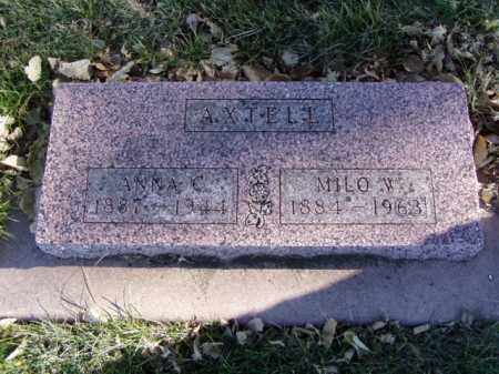 AXTELL, ANNA C. - Minnehaha County, South Dakota | ANNA C. AXTELL - South Dakota Gravestone Photos