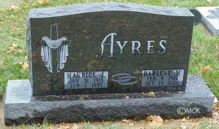 AYRES, DARLENE M. - Minnehaha County, South Dakota | DARLENE M. AYRES - South Dakota Gravestone Photos