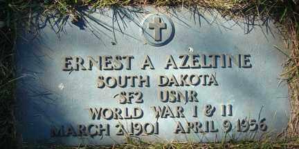 AZELTINE, ERNEST A, - Minnehaha County, South Dakota   ERNEST A, AZELTINE - South Dakota Gravestone Photos