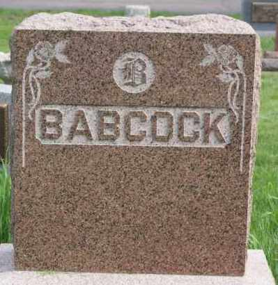 BABCOCK, FAMILY MARKER - Minnehaha County, South Dakota | FAMILY MARKER BABCOCK - South Dakota Gravestone Photos