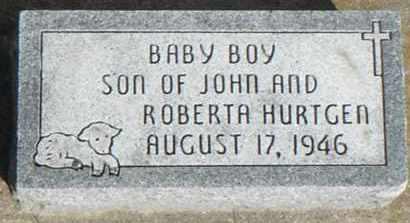 BABY BOY, HURTGEN - Minnehaha County, South Dakota | HURTGEN BABY BOY - South Dakota Gravestone Photos