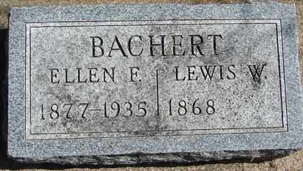 BACHERT, LEWIS W. - Minnehaha County, South Dakota | LEWIS W. BACHERT - South Dakota Gravestone Photos