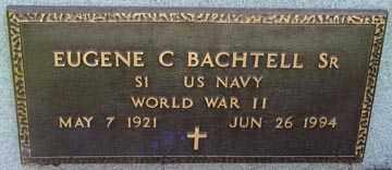 BACHTELL, EUGENE C. SR - Minnehaha County, South Dakota | EUGENE C. SR BACHTELL - South Dakota Gravestone Photos