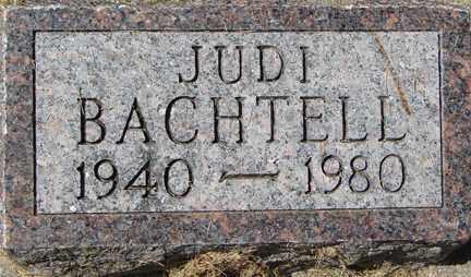 BACHTELL, JUDI - Minnehaha County, South Dakota   JUDI BACHTELL - South Dakota Gravestone Photos