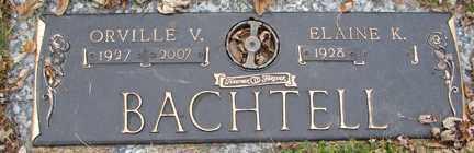 BACHTELL, ELAINE K. - Minnehaha County, South Dakota | ELAINE K. BACHTELL - South Dakota Gravestone Photos