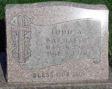 BACHTELL, TODD A. - Minnehaha County, South Dakota | TODD A. BACHTELL - South Dakota Gravestone Photos