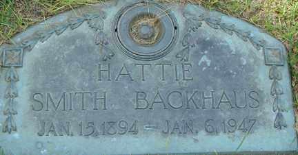 BACKHAUS, HATTIE - Minnehaha County, South Dakota | HATTIE BACKHAUS - South Dakota Gravestone Photos