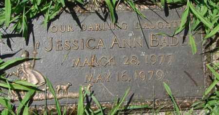 BADER, JESSICA ANN - Minnehaha County, South Dakota | JESSICA ANN BADER - South Dakota Gravestone Photos