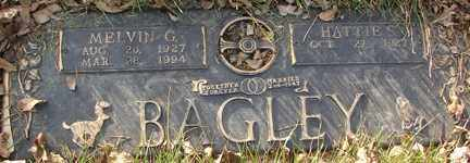 BAGLEY, MELVIN G. - Minnehaha County, South Dakota   MELVIN G. BAGLEY - South Dakota Gravestone Photos