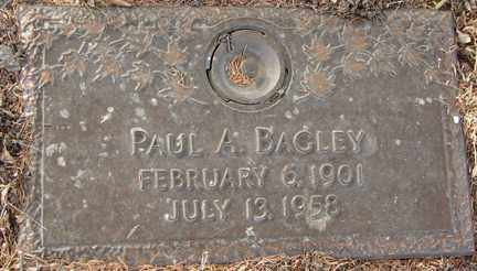 BAGLEY, PAUL A. - Minnehaha County, South Dakota | PAUL A. BAGLEY - South Dakota Gravestone Photos
