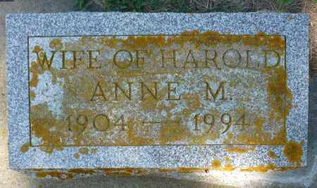 BAILEY, ANNE M. - Minnehaha County, South Dakota   ANNE M. BAILEY - South Dakota Gravestone Photos