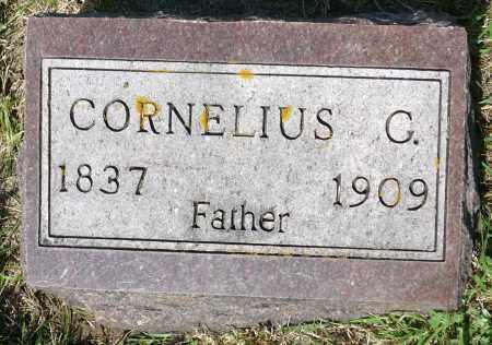 BAILEY, CORNELIUS G. (FOOTSTONE) - Minnehaha County, South Dakota | CORNELIUS G. (FOOTSTONE) BAILEY - South Dakota Gravestone Photos