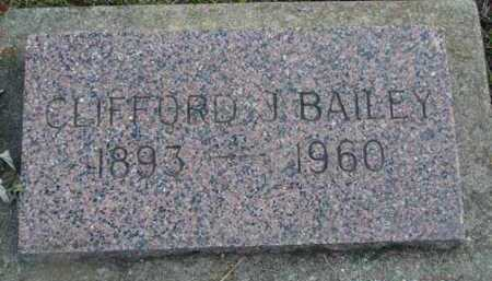 BAILEY, CLIFFORD J. - Minnehaha County, South Dakota | CLIFFORD J. BAILEY - South Dakota Gravestone Photos