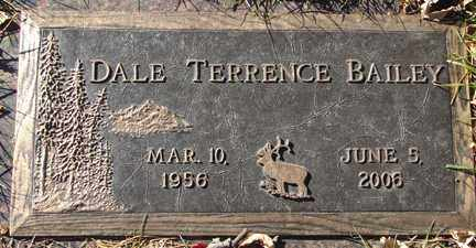 BAILEY, DALE TERRENCE - Minnehaha County, South Dakota   DALE TERRENCE BAILEY - South Dakota Gravestone Photos