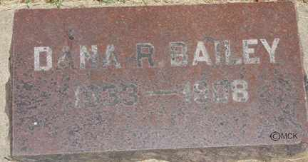 BAILEY, DANA REED - Minnehaha County, South Dakota | DANA REED BAILEY - South Dakota Gravestone Photos